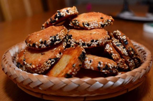 עוגיות פרמזן פיקנטיות