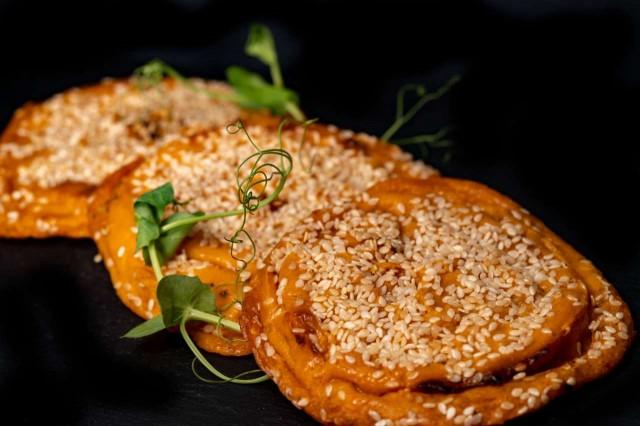 Sweet Potatos vegan fritters